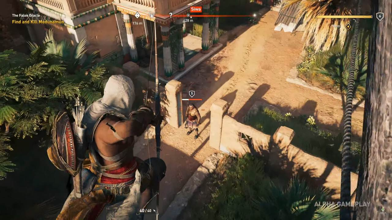 Assassin S Creed Origins Developer Gameplay Walkthrough Johnny S