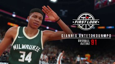 The Greek Freak with a 91 overall!