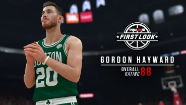 The newest Celtic, Gordon Hayward.