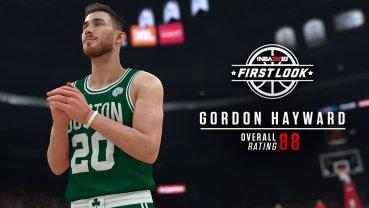 The newest Celtic, Gordon Hayward.