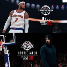 Melo by day, Hoodie Melo by night