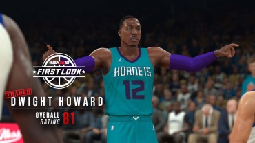 Dwight Howard is trying to get his rating up with the Hornets.
