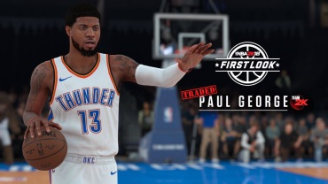 PG looking to make some noise with Thunder this year. He's got a 91 overall rating this year.