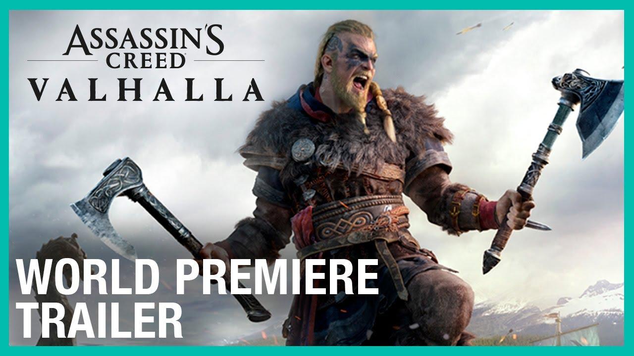 Assassin S Creed Valhalla World Premiere Trailer Johnny S World